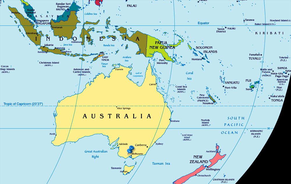 New Zealand Map In World.Top 10 Punto Medio Noticias World Map New Zealand Australia