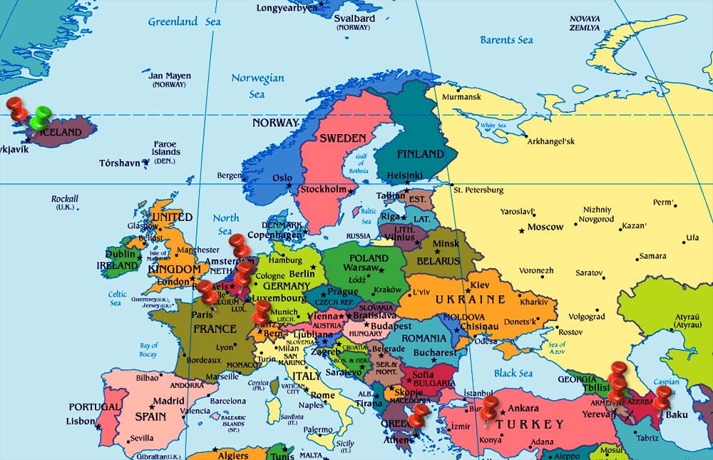List of Synonyms and Antonyms of the Word holand map